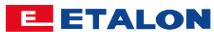 Logo Etalon, producenta pił panelowych.