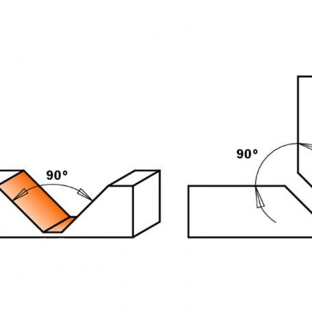 Etalon - Frez do cięcia materiałów kompozytowych 90°